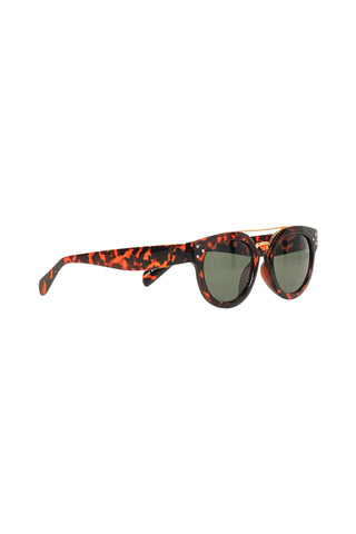Pia Metal Bridge Sunglasses
