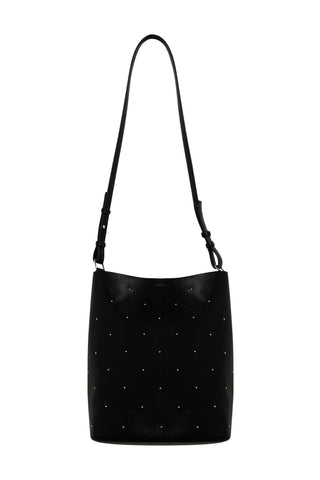 Studded Slouchy Tote Bag