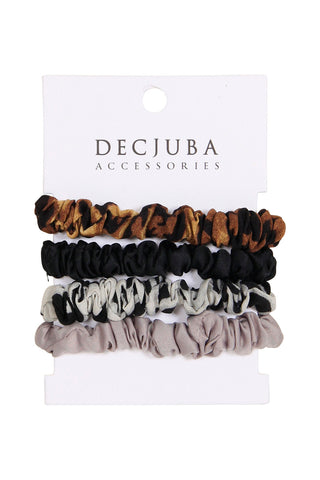 4 Small Scrunchie Set