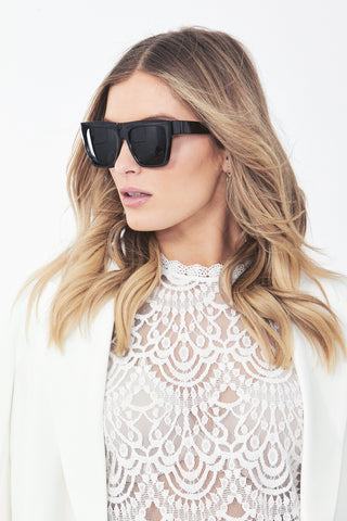 Sasha Flat Top Sunglasses
