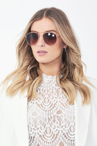 Marnie Aviator Sunglasses