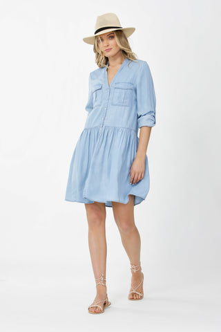 Brylee Drop Waist Dress