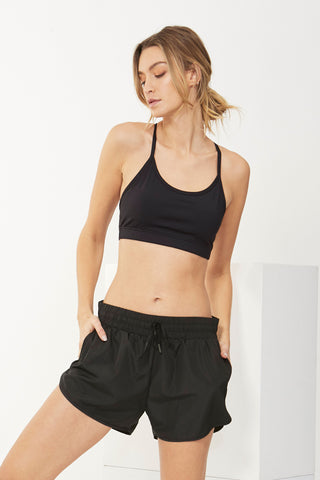 Luxe Active Thin Strap Bra