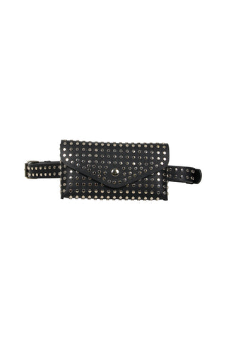 Studded Envelope Belt Bag