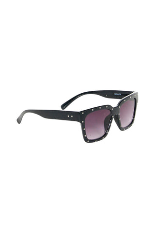 Phoebe Studded Square Sunglass