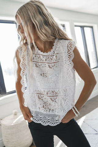 Paris Lace Top