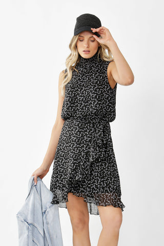 Joelle Sleeveless Wrap Dress