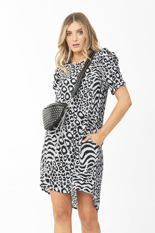 Nadia Puff Sleeve Dress