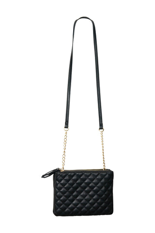Double Pouch Crossbody Bag
