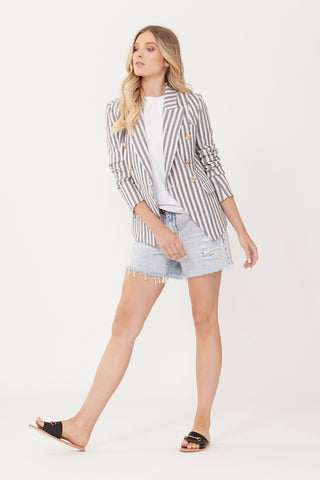 Carly Stripe Blazer