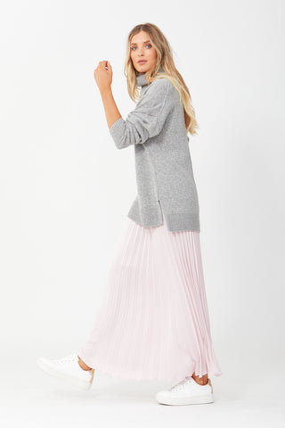 Lilly Pleated Maxi Skirt