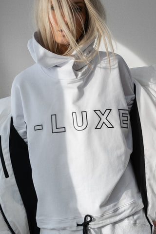 D-Luxe Outline Print Hoodie