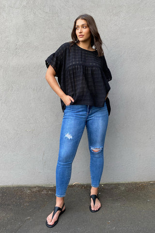 Bree Textured Blouse