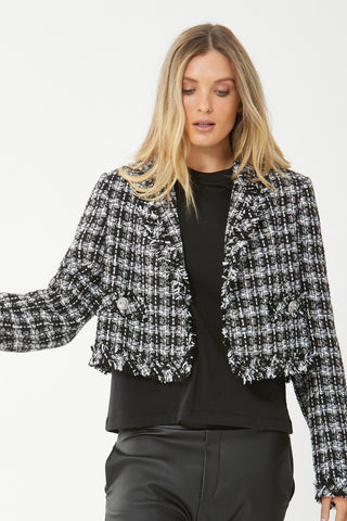 Alicia Crop Jacket