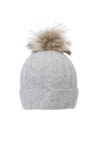 Morgan Single Pom Beanie