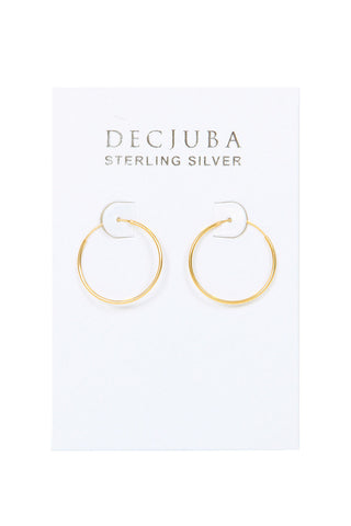 25mm Hoop Earrings