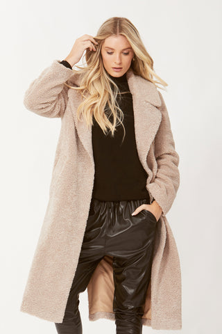 Farrah Shearling Coat