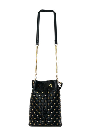 Isla Stud Quilted Bucket Bag