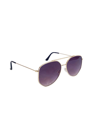 Detailed Aviator Sunglasses