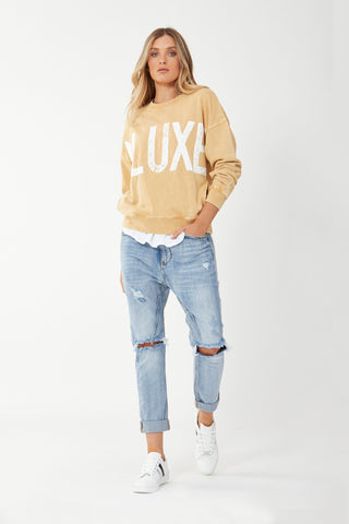 D-Luxe Distressed Sweat