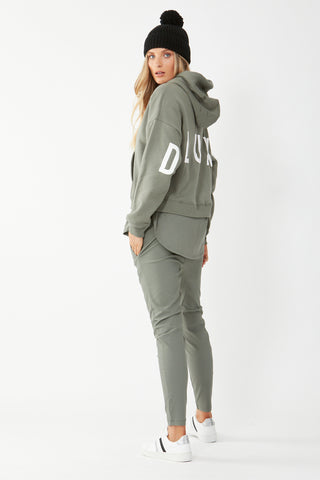 D-Luxe Continual Print Hoodie