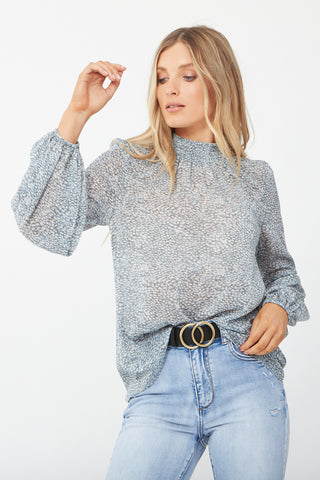 Arielle Balloon Sleeve Blouse