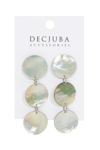 Caia Shell Dangle Earrings
