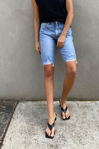 Lucy Bermuda Denim Short