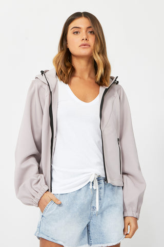 D-Luxe Scuba Hooded Jacket