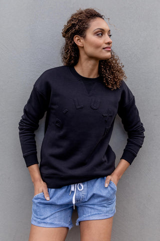 D-Luxe Embossed Sweat