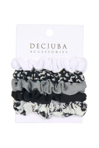 5 Pack Small Scrunchies