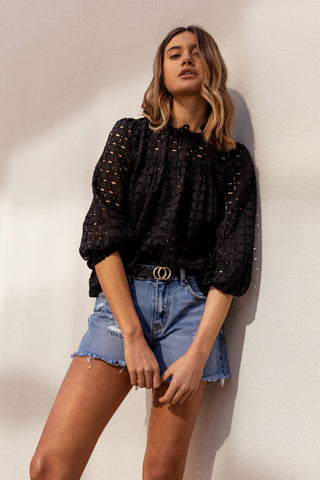 Belle Broderie Blouse