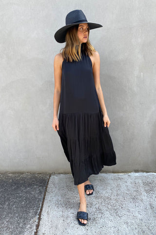 Rowena High Neck Maxi Dress