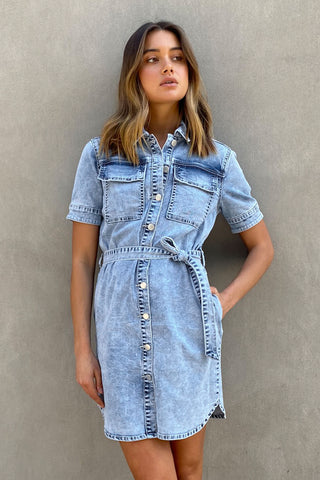 Piper Button Down Dress