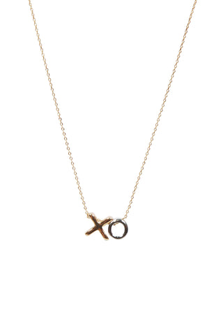 XO Stone Set Necklace