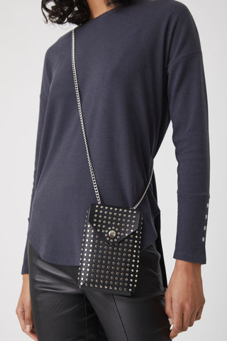 Venus Studded Crossbody Bag