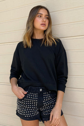 Morgan Cropped Sweat