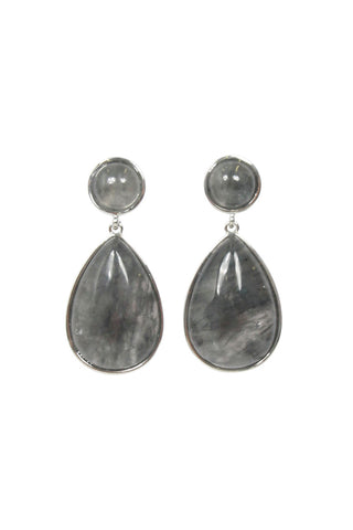 Wynn Stone Teardrop Earrings