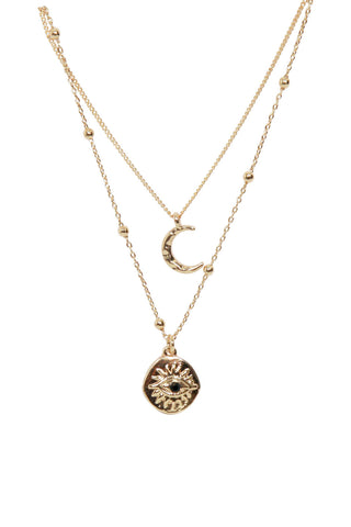 Moon Eye 2PK Necklace
