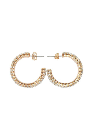Varsha Stone Set Hoops