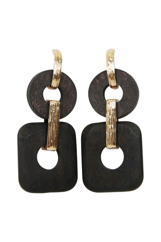 Vito Link Shape Earrings