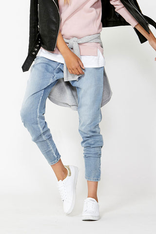 Kids Drop Crotch Jean