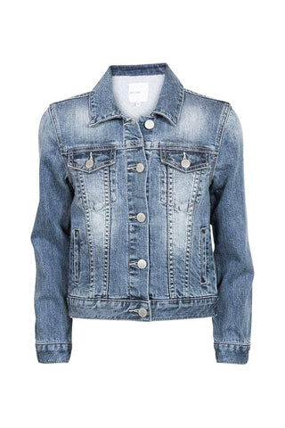 Kids Faded Denim Jacket