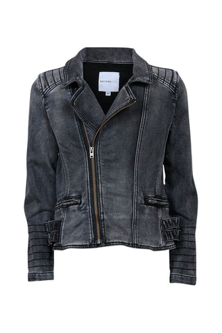 Kids Denim Biker Detail Jacket
