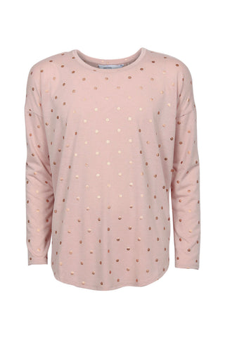 Kids Long Sleeve Spot Tee