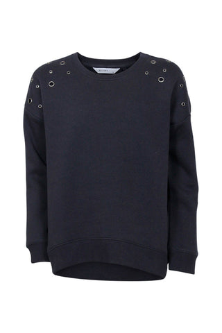 Kids Eyelet Detail Sweat