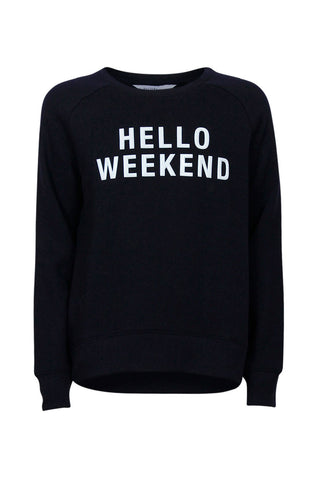 Kids Hello Weekend Sweat