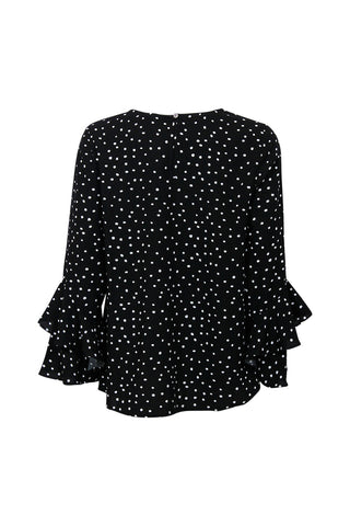 Kids Ruffle Sleeve Blouse