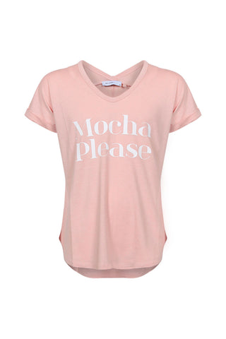 Kids Mocha Please Tee