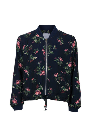 Kids Rose Printed Bomber